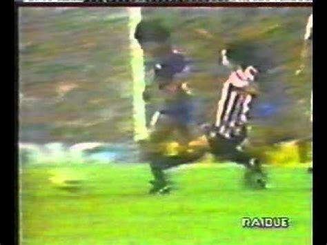 Maradona s leg broken by Goikoetxea in 1983.   YouTube