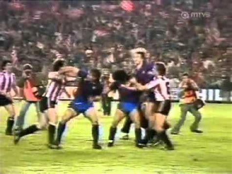 Maradona vs. Atletico Madrid Fight   YouTube
