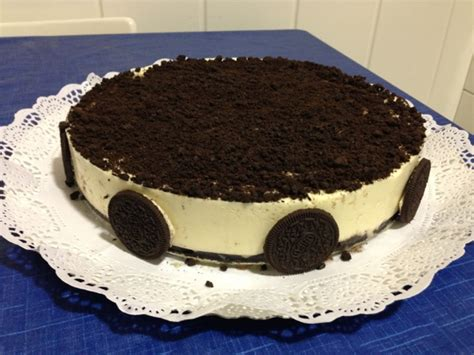 Maralon Bakery: Tarta de chocolate blanco y oreo