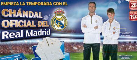 Marca lanza el chandal oficial del Real Madrid