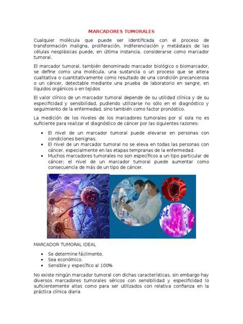 MARCADORES TUMORALES | Cáncer | Cáncer de pulmón