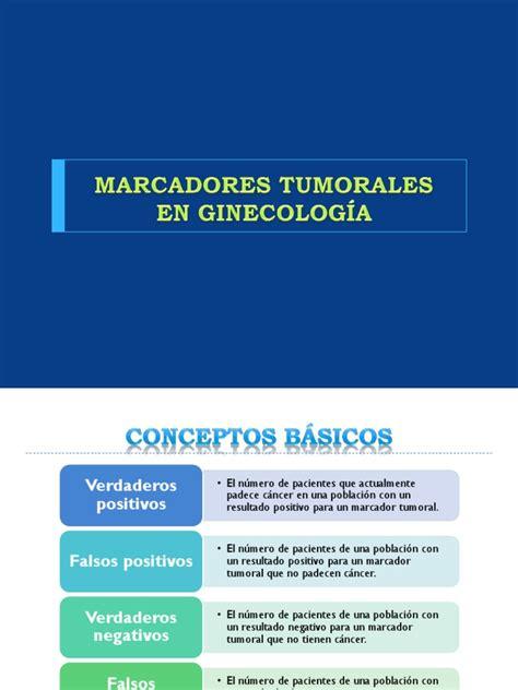 MARCADORES TUMORALES EN GINECOLOGÍA.pptx | Cancer | Breast ...