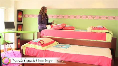 Marcela Estrada TV   Como decorar un cuarto para niñas ...
