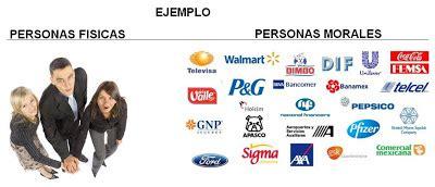 MARCO JURIDICO: PERSONAS MORALES Y PERSONAS FÍSICAS