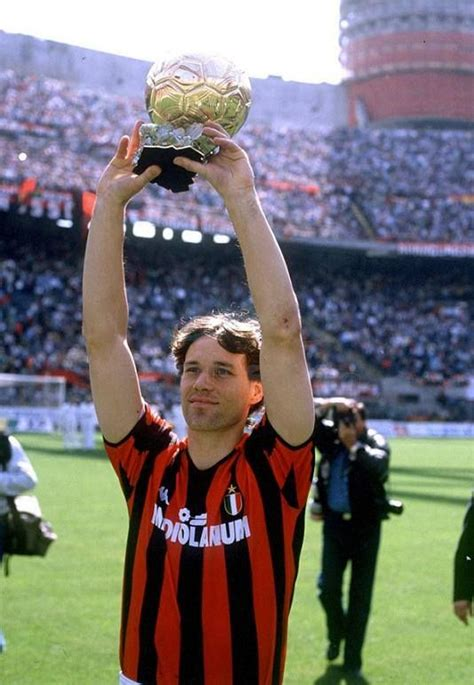 Marco van Basten  1989, AC Milan, Netherlands    Joueur de ...