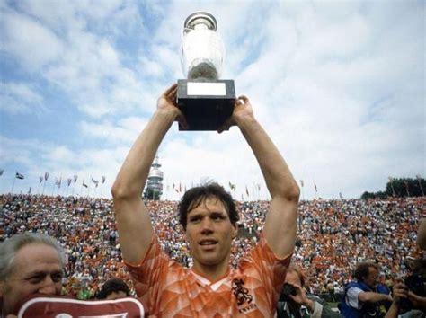 Marco van Basten / Dutch national team European ...
