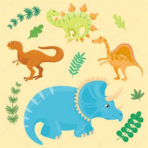 Marcos de dinosaurios infantiles | Dibujos animados ...