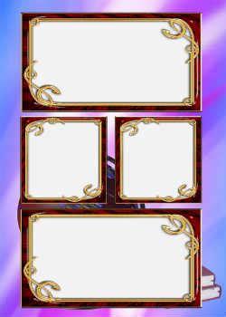 Marcos para collage de foto online gratis. Categoría ...