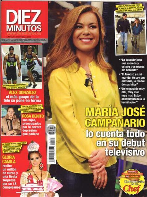 María José Campanario, cuenta todo sobre su debut ...