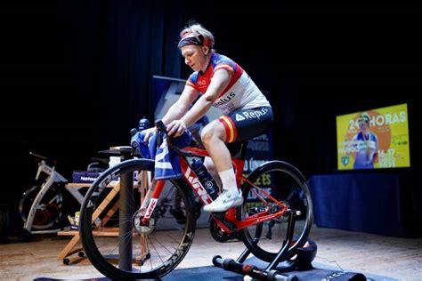 María José Silvestre pedalea 653 kilómetros en 24 horas ...