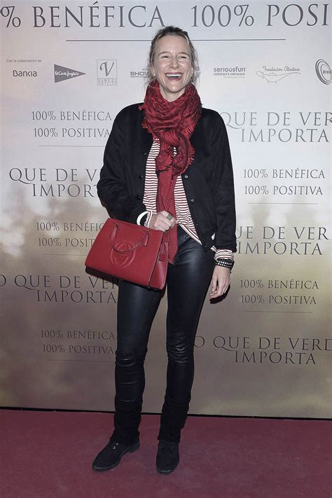 Maria Leon attends Lo Que De Verdad Importa premiere ...