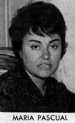 .: MARÍA PASCUAL  1960