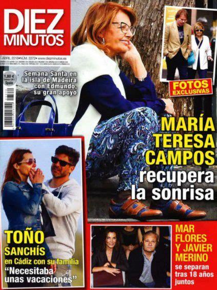 María Teresa Campos recupera la sonrisa en Diez Minutos ...