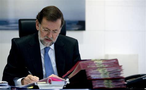 Mariano Rajoy admite que incluyó la presidencia de España ...