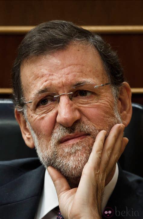 Mariano Rajoy con cara de preocupación   Las caras de ...