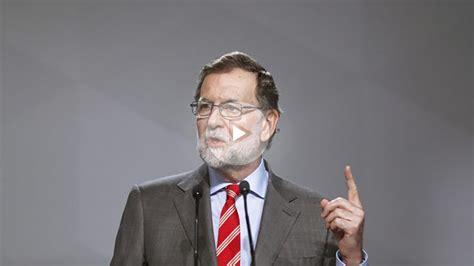 Mariano Rajoy deberá comparecer en persona ante el ...