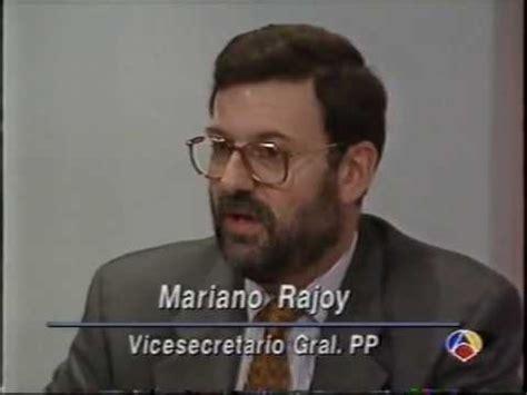 Mariano Rajoy declaracion 1993   YouTube