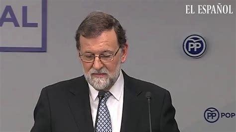 Mariano Rajoy deja la presidencia del Partido Popular ...