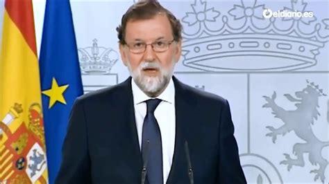 Mariano Rajoy dice si al referendum de independencia de ...