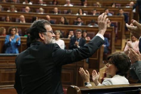Mariano Rajoy dimite de la Presidencia del PP: «Es lo ...
