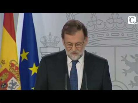 Mariano Rajoy:  Hoy no ha habido referéndum de ...