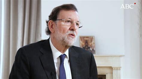Mariano Rajoy: «Mi dimisión habría sido un disparate ...