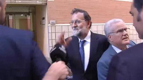 Mariano Rajoy retoma su trabajo como registrador de la ...