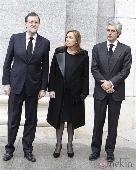 Mariano Rajoy, su mujer Elvira Fernández y Adolfo Suárez ...