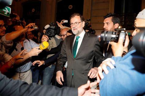 Mariano Rajoy va fuera de la presidencia de España