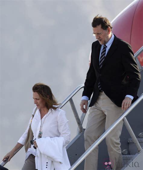 Mariano Rajoy y Elvira Fernández Balboa a su llegada a Los ...