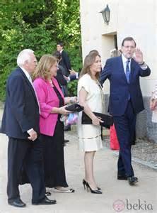 Mariano Rajoy y Elvira Fernández Balboa en la boda de ...