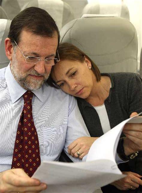 Mariano Rajoy y su esposa, Elvira Fernández   Edición ...