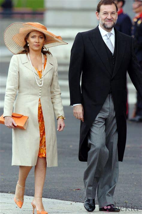 Mariano Rajoy y su mujer Elvira Fernández Balboa   Foto en ...