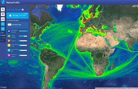 MarineTraffic Tracks Marine Vessels with Google Maps   eft ...