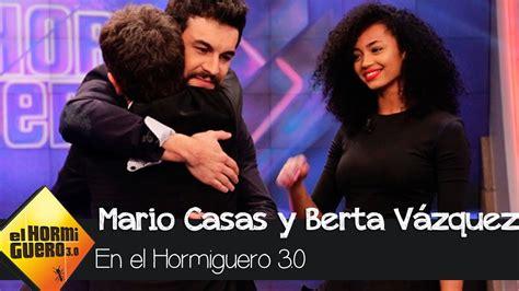 Mario Casas y Berta Vázquez en  El Hormiguero 3.0     El ...