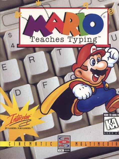 Mario Teaches Typing  1992    MobyGames