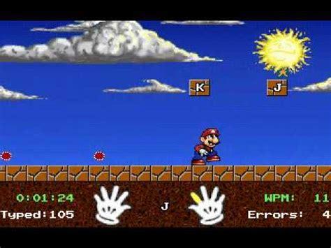 Mario Teaches Typing   Game Play   YouTube