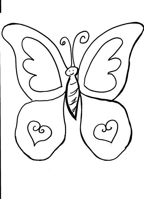 Mariposas para colorear, pintar e imprimir