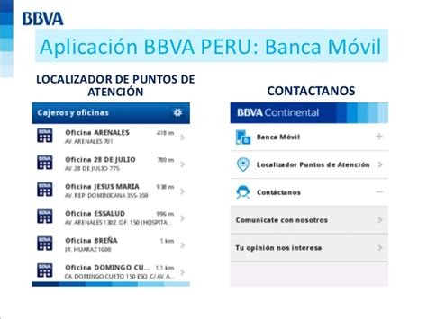 MARKETING MOVIL   ANALISIS BBVA PERU