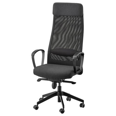 MARKUS Silla de trabajo   Vissle gris oscuro   IKEA
