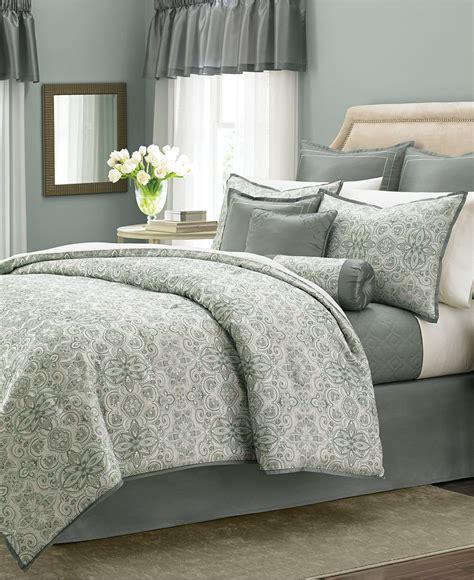 Martha Stewart Collection Regal Filigree 22 Pc. Comforter ...