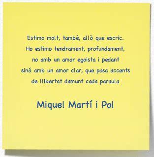 Martí i Pol   Poesia catalana, Poesía y Poemas