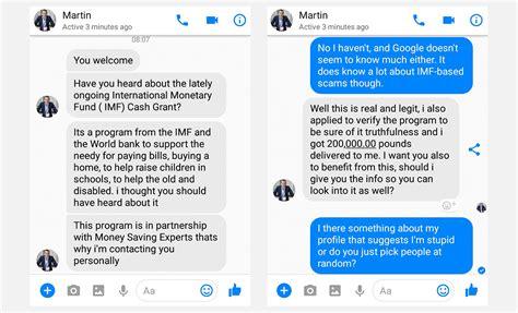 Martin Lewis slams new Facebook Messenger scam using his ...