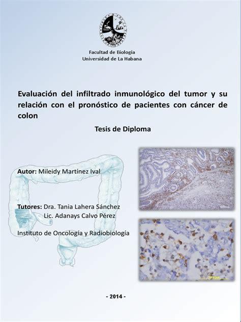 Martínez, 2014. Evaluación del infiltrado inmunológico del ...