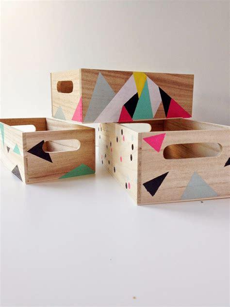 martu alterada: DIY: Pinta tus cajas de madera | Cajas de ...