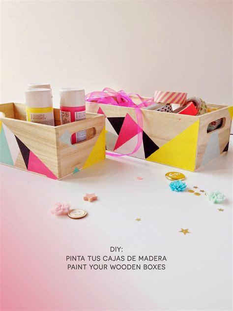 martu alterada: DIY: Pinta tus cajas de madera ...