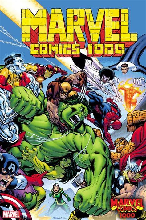 Marvel Comics Release 21 Of 22 Marvel Comics #1000 Variant ...