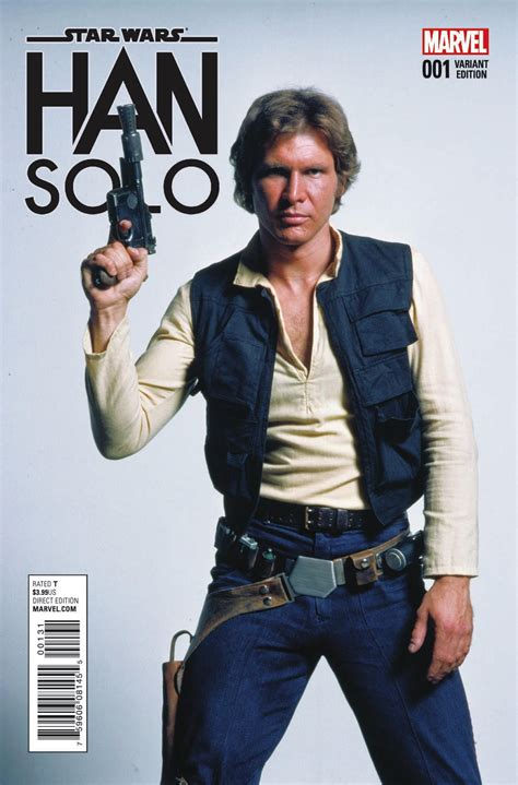 Marvel Shares New Look at Han Solo Comic   LaughingPlace.com