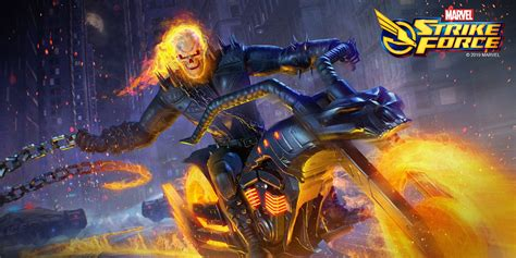 Marvel Strike Force Conjures Ghost Rider in Time for Halloween