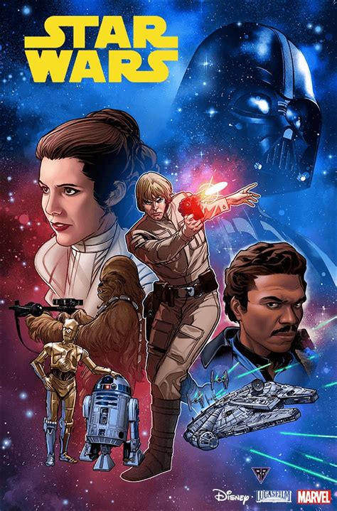 Marvel Strikes Back with first look preview of Star Wars #1